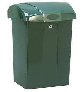 Ptt brievenbus Cofa groen met slot